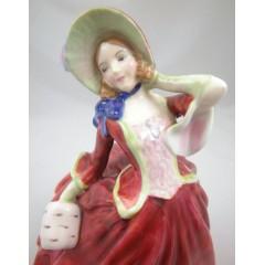 Royal Doulton AUTUMN BREEZES Lady Figurine HN 1934