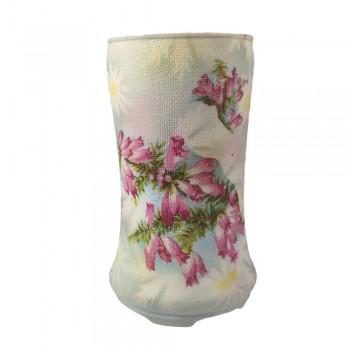 Antique HTF Royal Bayreuth Christmas Cactus Tapestry Vase