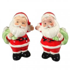 Set of Vintage Santa Salt & Pepper Shakers ~ Made in Japan