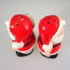 Set of Vintage Santa Salt & Pepper Shakers ~ Made in Japan