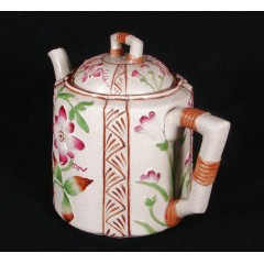 Brownhills Aesthetic Movement English Stoneware Teapot c1920