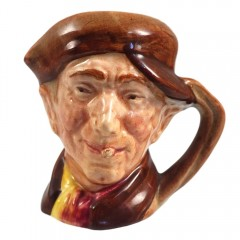 Arry Miniature Royal Doulton Character Toby Mug Jug D6249