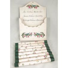 Rare Complete Set: 8 Shulton Friendship Garden Bath Salt Tubes