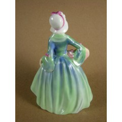 Royal Doulton JANET Figurine M-69 - Small Hard to Find Model