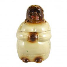 National Silver Pottery Black Americana Mammy Cookie Jar