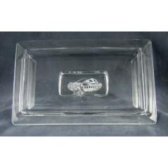 Large Heisey Puritan Horse Head Cigarette Box & Cover