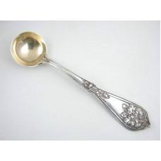 Baird-North Sterling Silver Gilt Salt Spoon - Circa 1910