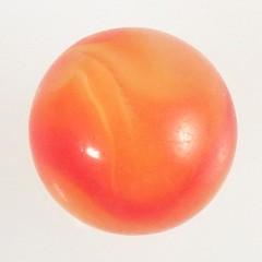 Akro Agate Carnelian Corkscrew Marble - UV