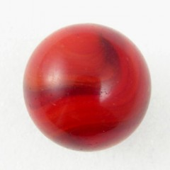 Cherry Red Akro Agate Corkscrew Snake Marble