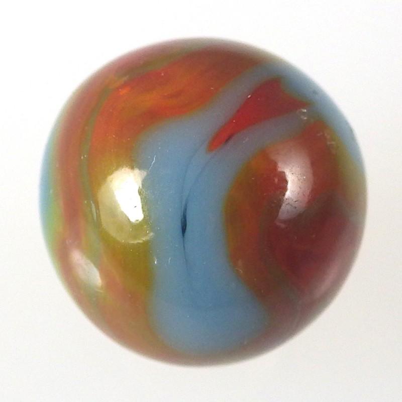Vintage Alley Agate Superman Marble