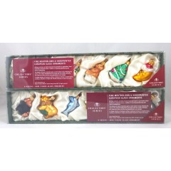 Nelson Trade Fine Handblown Handpainted European Glass Christmas Ornaments
