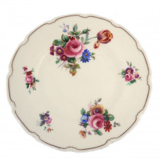 Pair of Royal Doulton The Bristol Salad Plate - V2080 Pink Roses Wild Flowers Plates