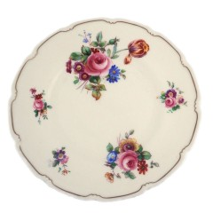Royal Doulton The Bristol Salad Plate - V2080 Pink Roses Wild Flowers