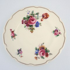 Royal Doulton Bristol Salad Plate with Pink Roses and Wild Flowers