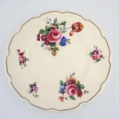 Royal Doulton The Bristol Salad Plate - V2080 Pink Roses Wild Flowers