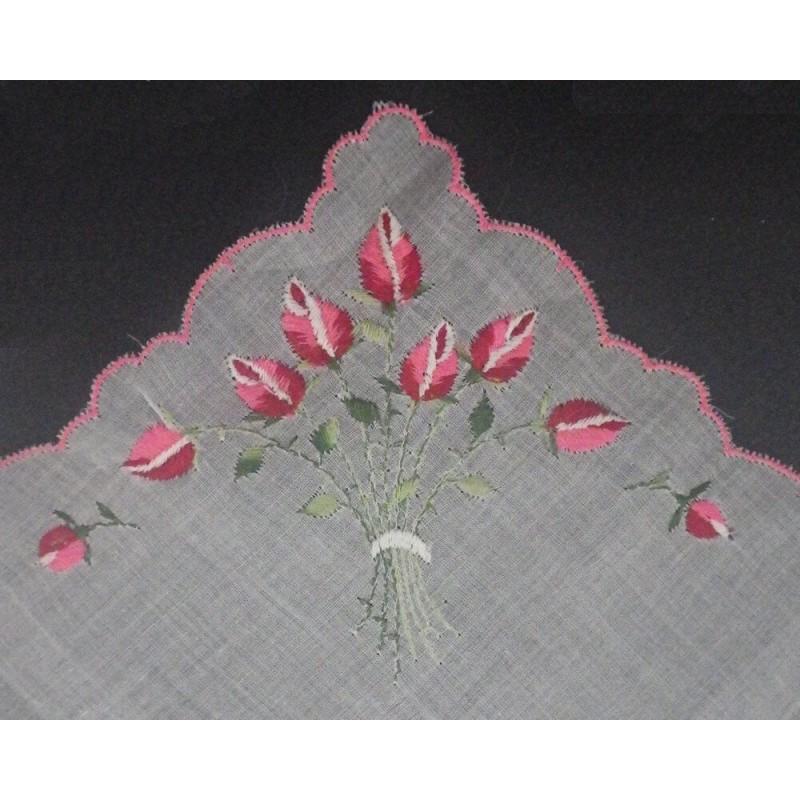 Vintage Handkerchief, Embroidered Hankie, Souvenir Hankies, Haiti  Souvenirs, Vintage Hankie, Embroidery
