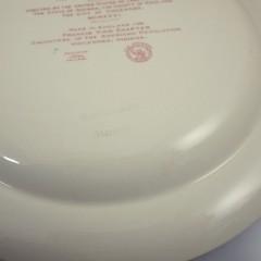 Wedgwood 1932 Plate Mount Vernon Bicentennial Transferware Plate - NSDAR