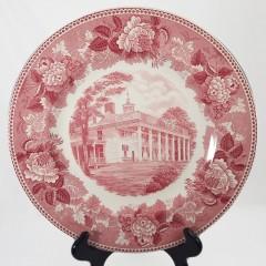 Wedgwood 1939 Plate George Rogers Clark Memorial Daughters American Revolution