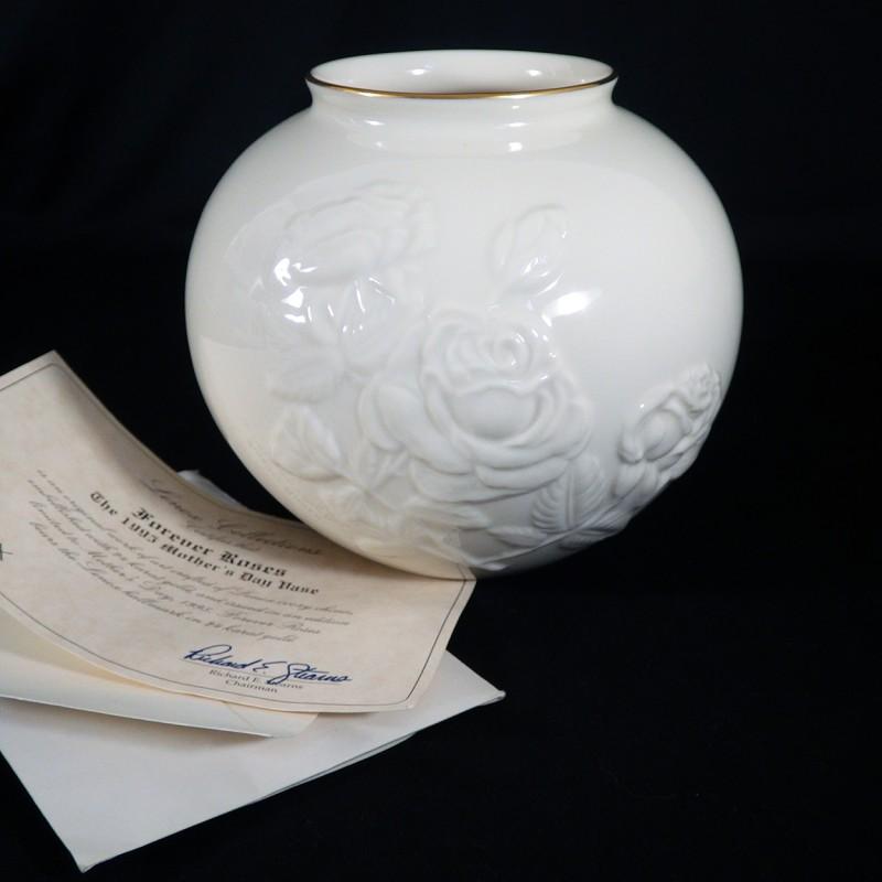 Lenox Rose Vase Vase And Cellar Image Avorcor