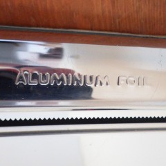 Wall-Mounted Metal 3-Way Dispenser for Paper Towels, Wax Paper, Aluminum Foil