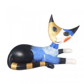 """Large 10"""" Amico Goebel Rosina Wachtmeister Cat Figurine"""