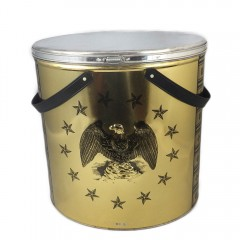 Tall Vintage Tri-Chem Eagle Paint Tin Container