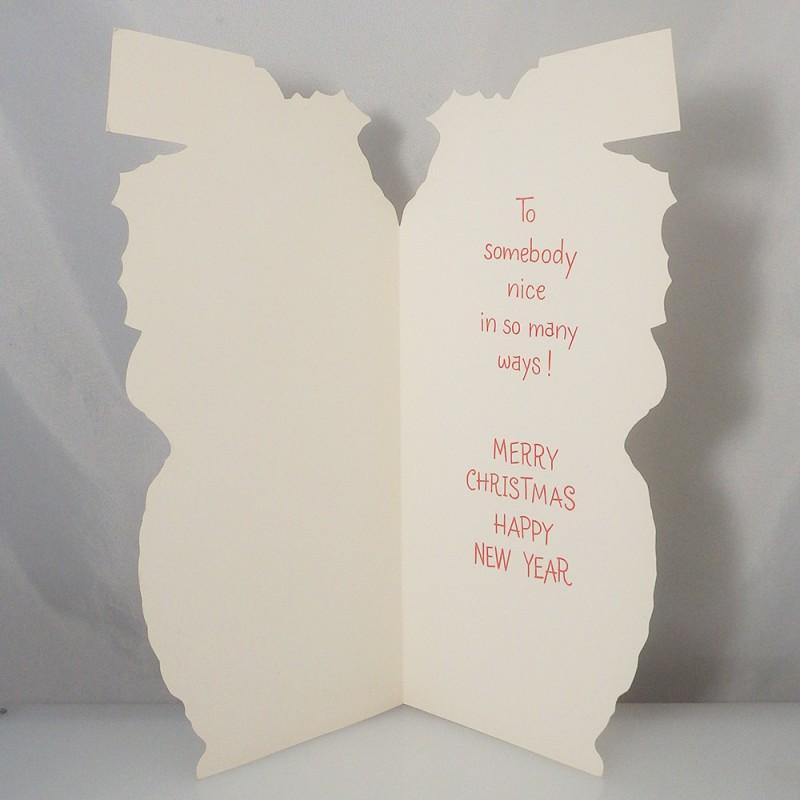 Large unused hallmark poodle christmas tales greeting card large hallmark poodle christmas tales greeting card unused m4hsunfo