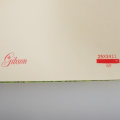 10-Dime Vintage Fold Out Gibson 1950s Money Santa Christmas Card - Unused