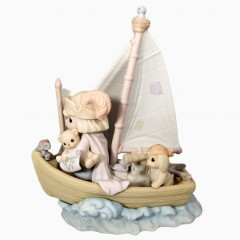 This Land Is Our Land Precious Moments Figurine, 1992 Collectors Club Enesco Figurine 527386