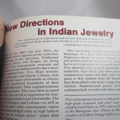 Indian Jewelry of the American Southwest, Collectors Reference Book