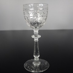 Libbey Rock Sharpe Frontenac Cordial Glass Vintage Crystal Stemware