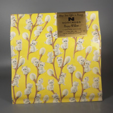 Norcross Vintage Cat Wrapping Paper - Pussy Willow