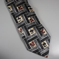 Ermenegildo Zegna  Mens Vintage Silk Tie - Disegno Esclusivo Made In Italy