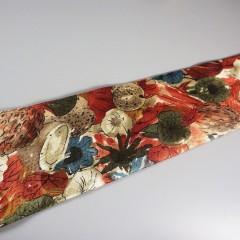 Fall Harvest Mens Vintage Wide Tie Ermenegildo Zegna Italian 100% Silk