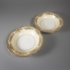 Noritake China Gastonia Fruit Berry Dessert Bowl - Pair