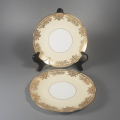 Noritake China Gastonia Round Salad Plate - Pair