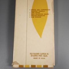 """Vintage Danish 15"""" Tiny Taper Candles NOS Boxed Set Old Harbor Candle"""
