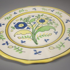 Shenango China 1920s French Country Style Flower Plate