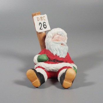 Vintage George Good Santa Figurine Day after Christmas