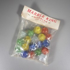 19 Cat's Eye Marble King Vintage Marbles in Original Unopened Bag