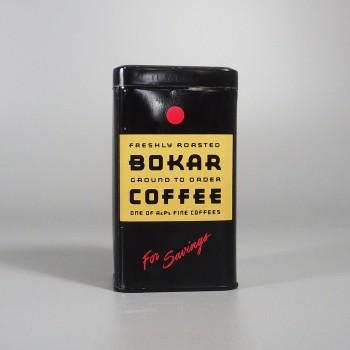 A&P Bokar Coffee Can Vintage Tin Piggy Bank