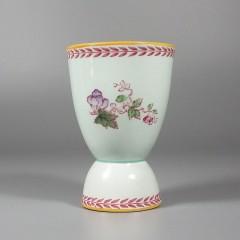 Adams Calyx Ware Metz Ironstone Vintage Double Egg Cup