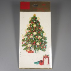 Unopened Hallmark Christmas Tree Press-On Package Seal Trims and Tags