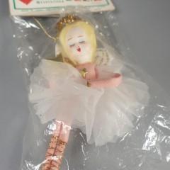 Vintage Tulle Ballerina Angel Christmas Ornament - Delta Novelty NIP