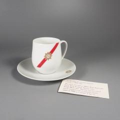 TWA Royal Ambassador Rosenthal Porcelain Demitasse Cup and Saucer Set