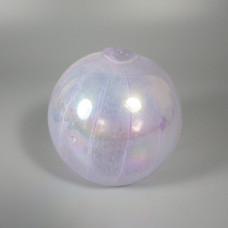 Blush Pink Hand Blown Signed Levay Intaglio Art Glass Oil Lamp