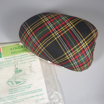 Plaid Vintage Singer Tailor's Ham Sewing Tool In Original Package