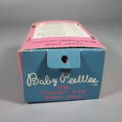 1966 Uneeda Vintage Pee Wee Doll - MIB with Plastic Bottle and Clothes